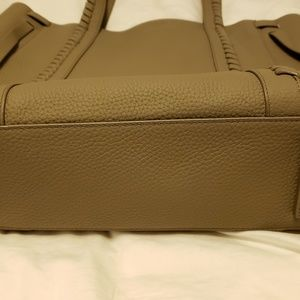 All Saints Bags - All Saints Ray North South Leather Tote Bag